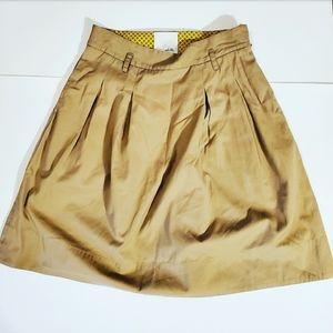 Odille Womens Tan Skirt